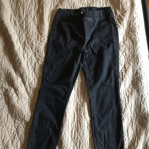 XS Eileen Fisher black jegging